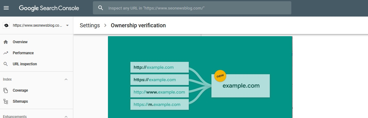 Google Search Update – One Property for Domain-Wide Data